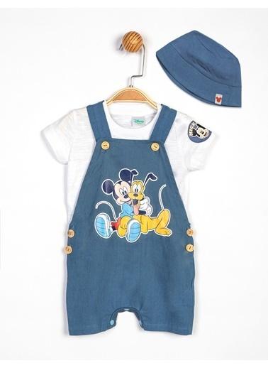 Mickey Mouse Salopet Mavi